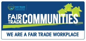 We are a Fair Trade Workplace logo banner jpeg